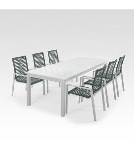 Rosetta Patio Dining Set - 6 Seater| Dining Sets -