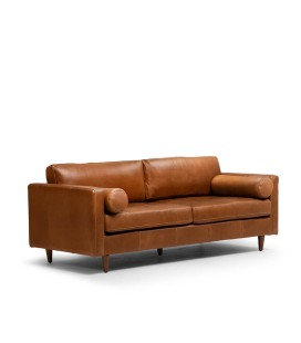 Hoffmann Couch - Tan | Couches for Sale