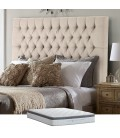 Kate Bed Promo - Queen XL - Harmony Stone