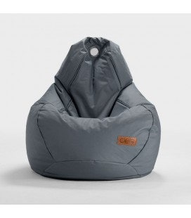 Remi Kids Charcoal Bean Bag | Bean Bag Chairs -