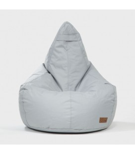 Linc Pearshape Light Grey Bean Bag | Bean Bag Chairs -