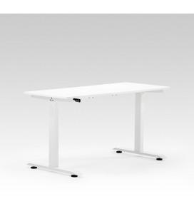 Velocity Height Adjustable Standing Desk - White -