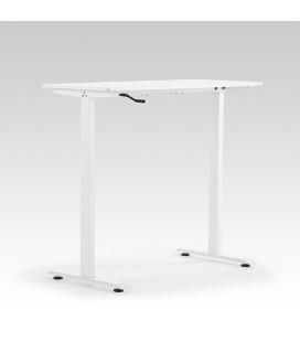 Velocity Height Adjustable Standing Desk - White