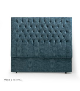 Kate Headboard - King - Aged Teal -