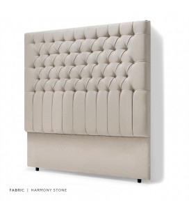 Kate Headboard Double - Harmony Stone -