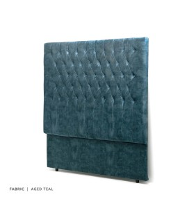 Kate Headboard Double - Aged Teal -