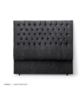 Kate Headboard Double - Aged Mercury -