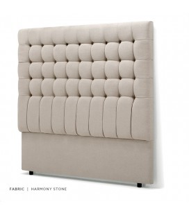 Ryland Headboard - Double - Stone -
