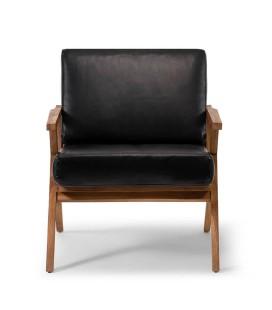 Salvino Armchair - Black | Armchairs -