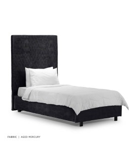 Tiffany + Raiden Bed - Single - Aged Mercury -