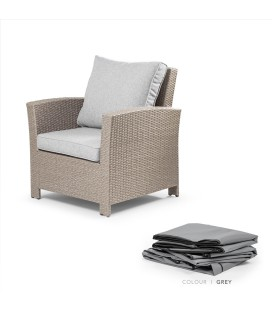 Protective Cover for Vermont 1 seater - Dark Grey -