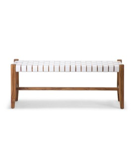 Zachary Bench - White | Benches -