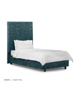 Tiffany + Raiden Bed - Single -Aged Teal -