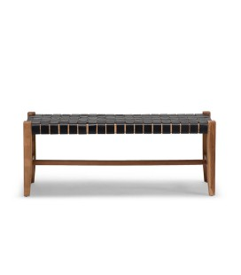 Zachary Bench - Black | Benches -