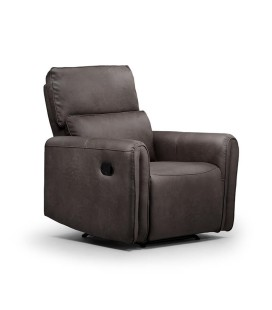 Walden 1 Seater Recliner - Mercury -