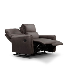 Walden 2 Seater Recliner - Mercury -