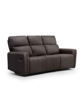 Walden 3 Seater Recliner - Mercury -