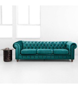 Clairfield Couch - Teal | Couches -