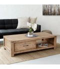 Vancouver Acacia Wood Coffee Table