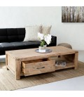 VCER2-CF01 - Vancouver Acacia Wood Coffee Table -