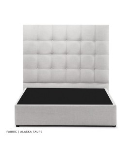 Ariella Bed - Single Extra Length | Alaska Taupe