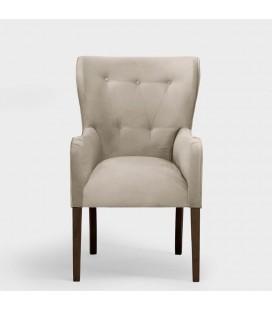 Emma Dining Chair - Velvet Stone -