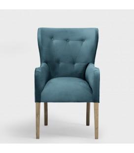 Emma Dining Chair - Velvet Teal -