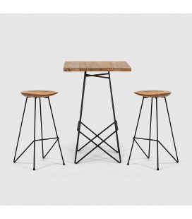 Fabian Melina Cocktail Set   Cocktail Tables and Chairs -
