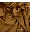 Rachel Queen Headboard | Aged Mustard