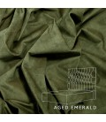 Catherine Bed - King | Aged Emerald
