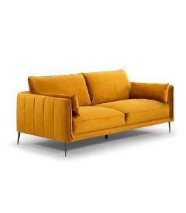 Emeline Couch - Velvet Mustard -