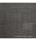 Hailey Bed - Single XL | Alaska Dark Grey