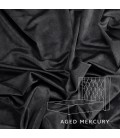 Hailey Bed - Double | Aged Mercury