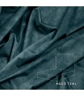 Rachel Bed - King | Aged Teal