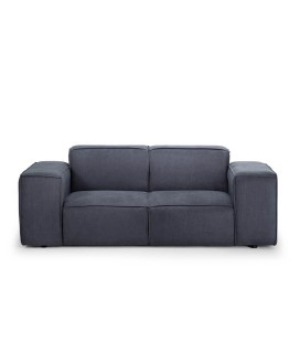 Jagger 2 Seater Couch - Arctic Grey -