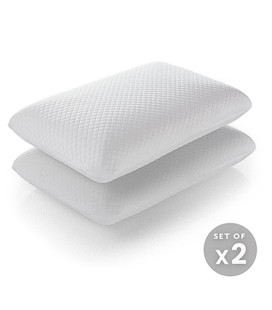 Classic Soft Touch Memory Foam Pillow - Set of Two -