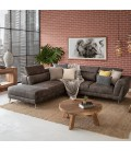 Laurence Corner Couch - Fossil