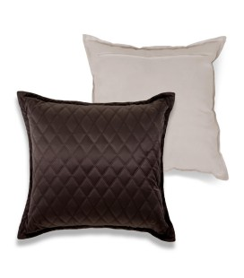 Quilt Chocolate Scatter Cushion -