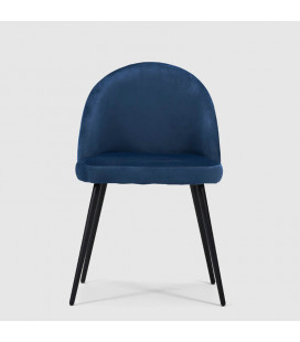 Eliana Dining Chair - Navy -