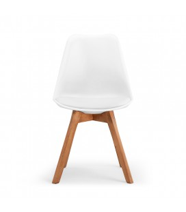 Atom Dining Chair - White -