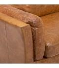 Granger Armchair - Wax Crackle Ginger -