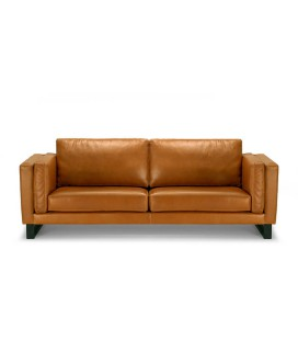 Leadford 3 Seater Couch - Tan -