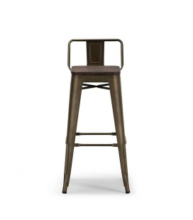 Tyce Tall Bar Chair - Weathered Bronze -