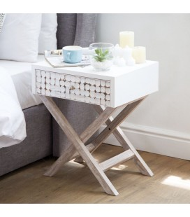 Jiba Pedestal | Bedside Table for Sale -