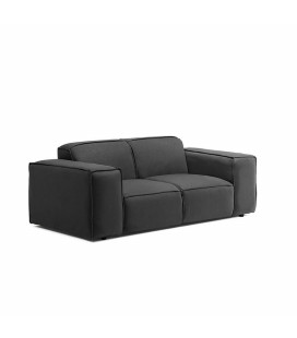 Jagger 2 Seater Couch - Charcoal -