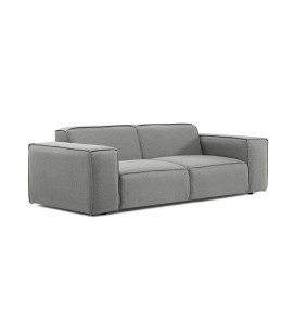 Jagger 3 Seater Couch - Grey -