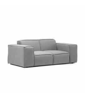 Jagger 2 Seater Couch - Grey -