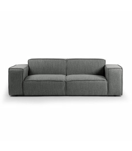 Jagger 3 Seater Couch - Flint -