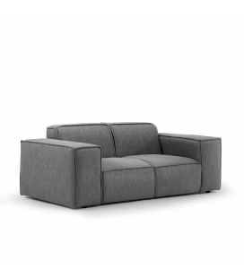 Jagger 2 Seater Couch - Flint -