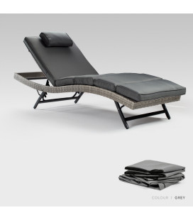 Sydney Pool Lounger Protective Cover - Grey